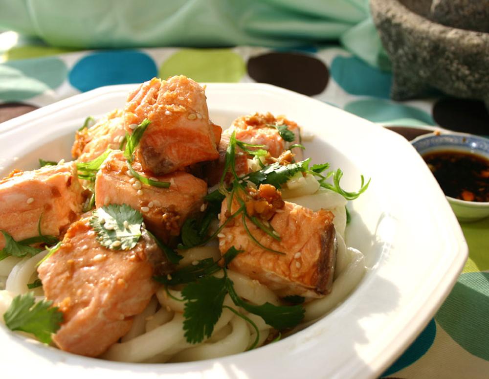Recipe Roasted Ginger Maple Salmon