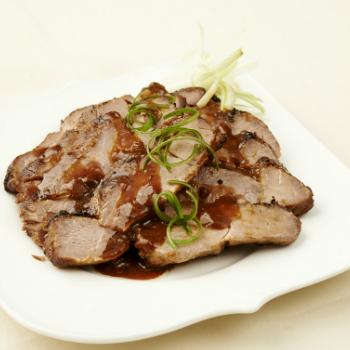 Recipe Roasted Pork Neck in Bean Sauce S