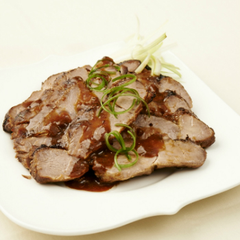 Recipe Roasted Pork Neck in Bean Sauce