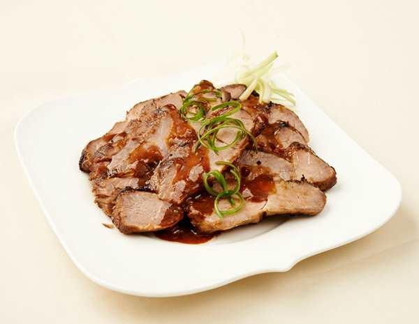 Recipe Roasted Pork Neck in Bean Sauce