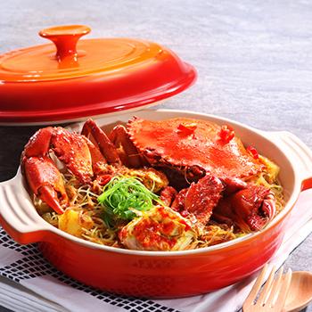 Recipe Satay Crab Casserole S