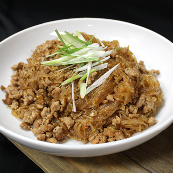 Recipe Sauteed Vermicelli with Spicy Minced Pork S