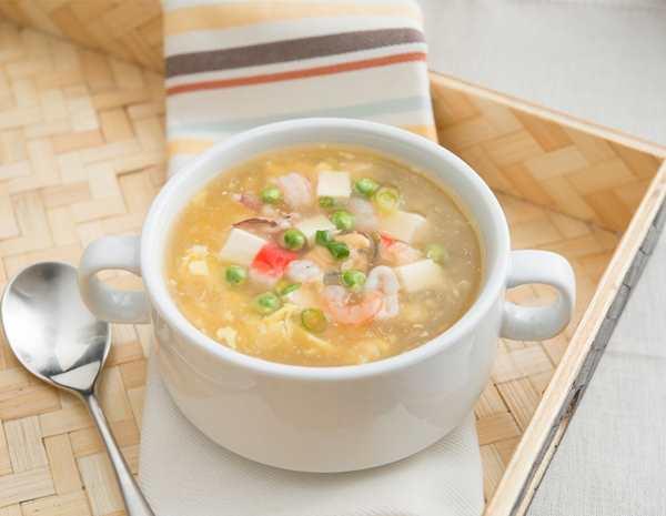 Seafood and Tofu Soup