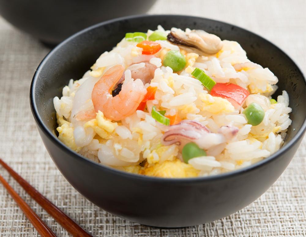 什錦海鮮粒炒飯