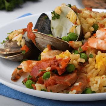 Recipe Seafood Paella S