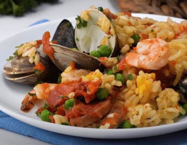 Recipe Seafood Paella