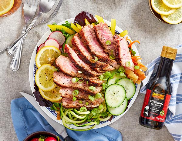 Recipe Seared Ahi Tuna Salad