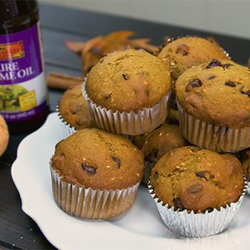 Recipe Sesame & Chocolate Chip Pumpkin Muffins S