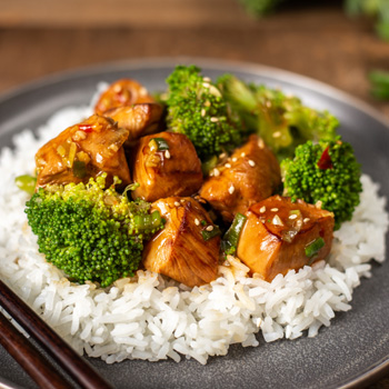 Recipe Sesame Chicken with Broccoli S