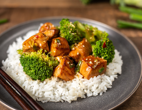 Recipe Sesame Chicken with Broccoli