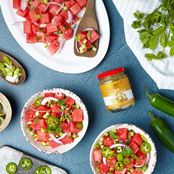 Recipe Sesame Lime Watermelon Salad S