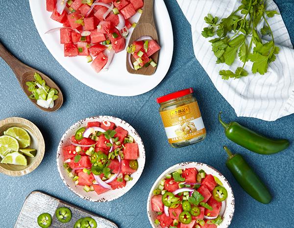 Recipe Sesame Lime Watermelon Salad