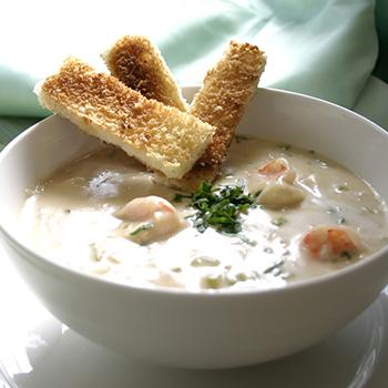 Recipe Shrimp and Scallop Chowder S
