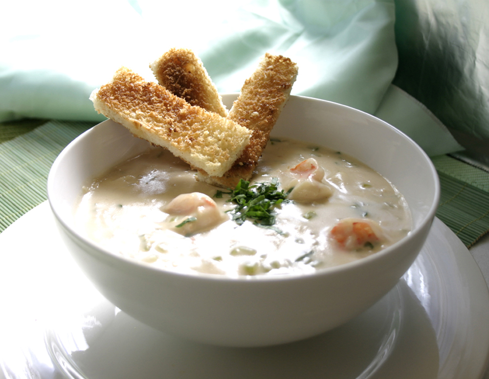 Recipe Shrimp and Scallop Chowder