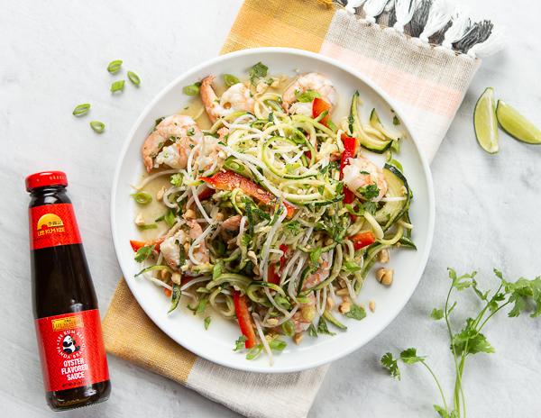 Recipe Shrimp Pad Thai with Zoodles Re