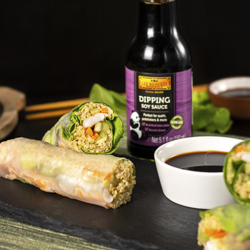 Recipe Shrimp Spring Rolls with Dipping Soy Sauce S