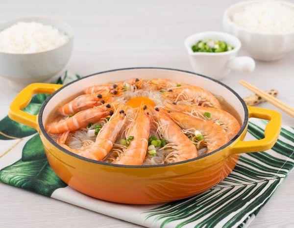 Shrimp with Vermicelli Casserole