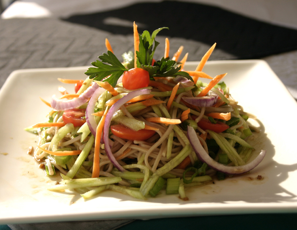 Recipe Soba Noodles with Premium Soy Vinaigrette