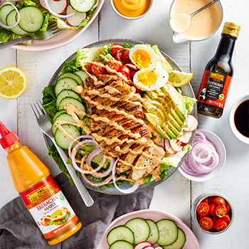 Recipe Spicy Chicken Salad Bowl S