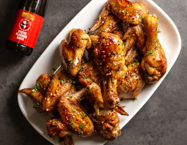 Recipe Spicy Chicken Wings