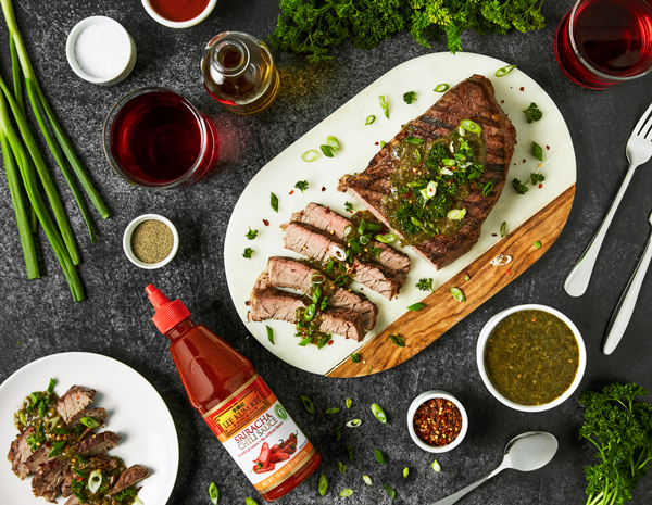 Recipe Spicy Chimichurri Steak