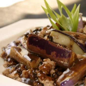 Recipe Spicy Eggplant with Black Bean Garlic Sauce S