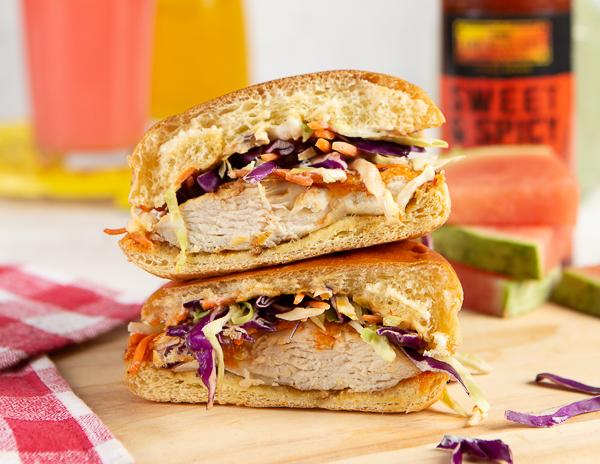 Recipe Spicy Grilled Chicken Sandwich
