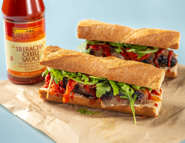 Recipe Spicy Grilled Sausage Sandwiches