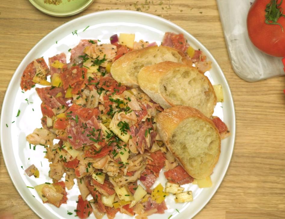Recipe Spicy Italian Hoagie Dip