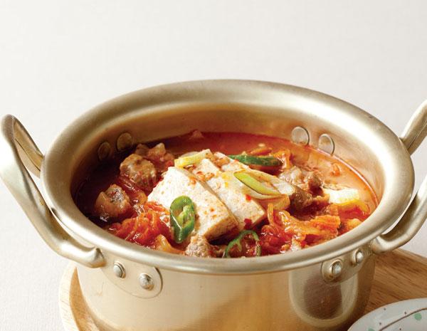 Recipe Spicy Kimchi Tofu Stew