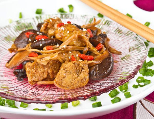 Recipe Spicy Shanghai Sponge Tofu