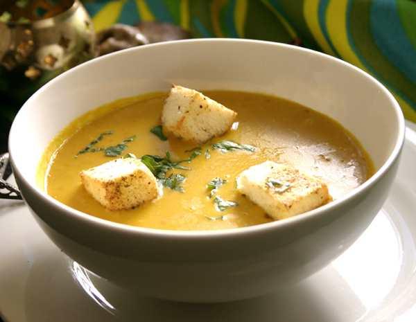 Recipe Spicy Squash Soup