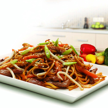 Recipe Spicy Stir-Fried Noodles