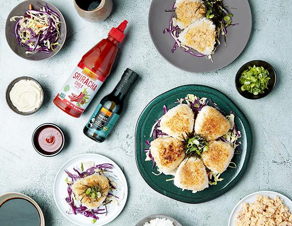 Recipe Spicy Tuna Yaki Onigiri