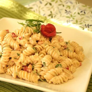 Recipe Spring Turkey Pasta Salad
