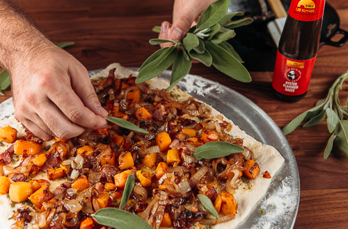 Recipe Squash & Caramelized Onion Pizza_Step 5