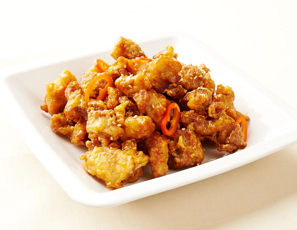 Recipe Sriracha Mayo Popcorn Chicken