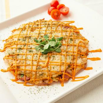 Recipe Sriracha Pancake with Sausage and Corn
