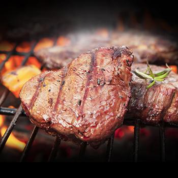 Recipe Steak with Sriracha BBQ Sauce