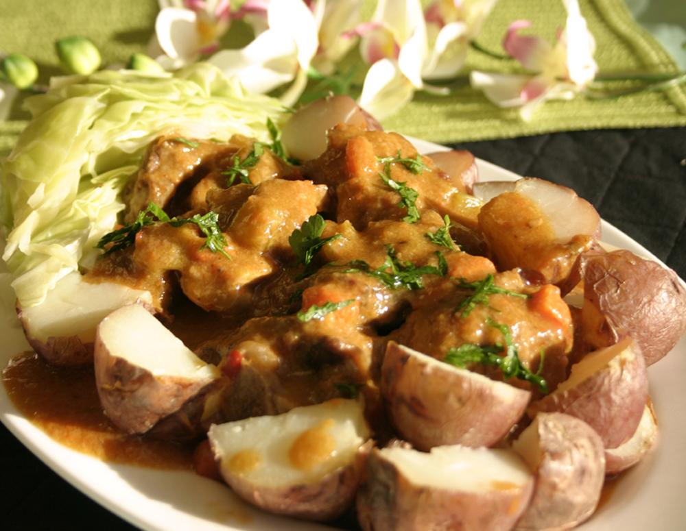 Recipe Stew Lamb Shank with Chili Garlic Sauce