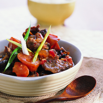 Recipe Stewed Beef with Soybean Sauce S