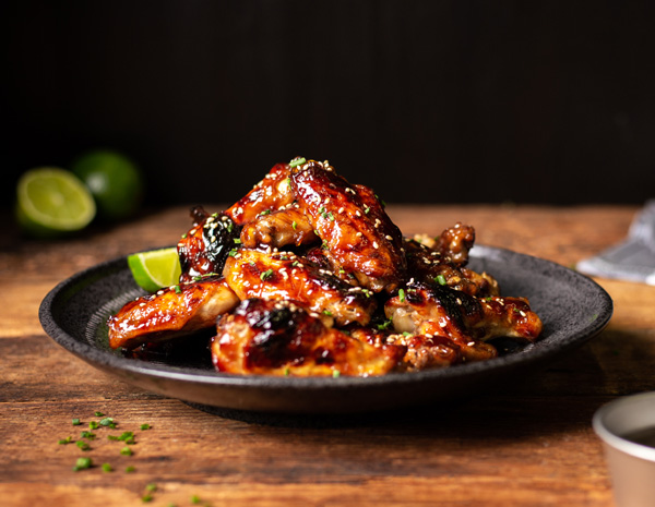 Recipe Sticky Hoisin Wings