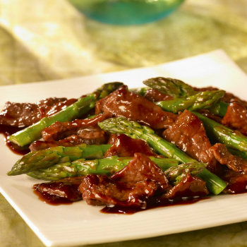 Recipe Stir-Fried Beef with Asparagus S