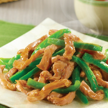 Recipe Stir-Fried Pork with Green Bell Peppers