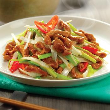 Recipe Stir Fried Pork with Green Onion S