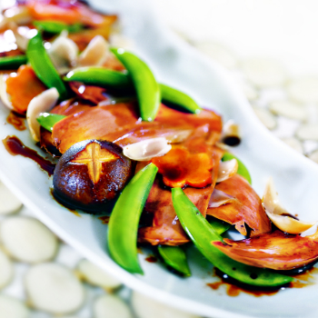 Recipe Stir-Fried Vegetarian Abalone with Vegetables