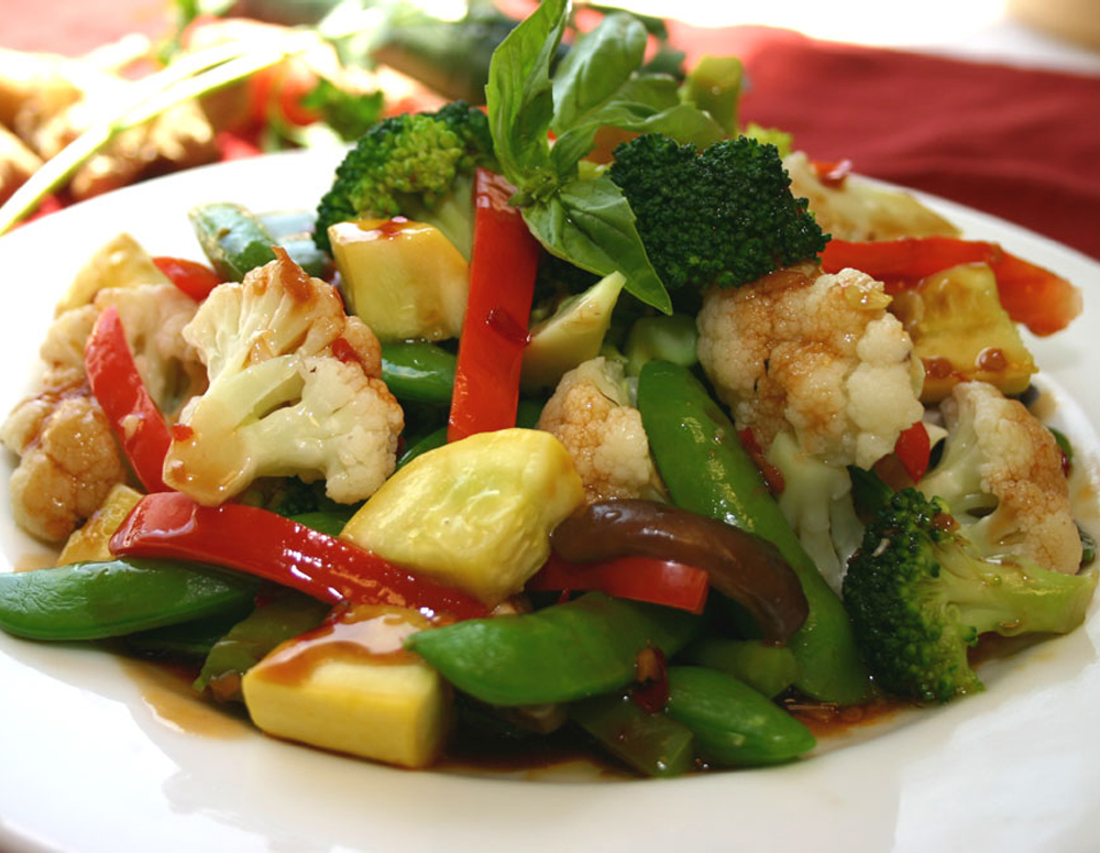 Recipe Stir-Fry Spring Vegetables with Panda Oyster Flavored sauce