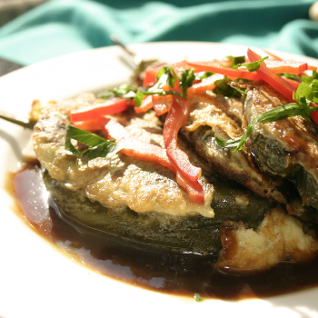 Recipe Stuffed Chili Relleno with Oyster Flavored Sauce S
