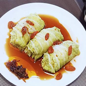 Recipe Stuffed Napa Cabbage Rolls S
