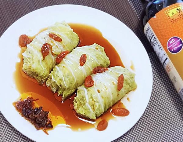 Recipe Stuffed Napa Cabbage Rolls